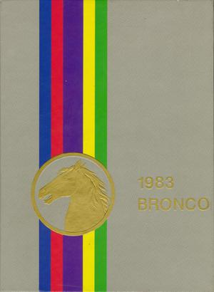 The Bronco, Yearbook of Hardin-Simmons University, 1983