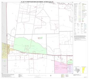 Primary view of object titled 'P.L. 94-171 County Block Map (2010 Census): Jim Wells County, Block 8'.