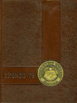 Primary view of The Bronco, Yearbook of Hardin-Simmons University, 1979