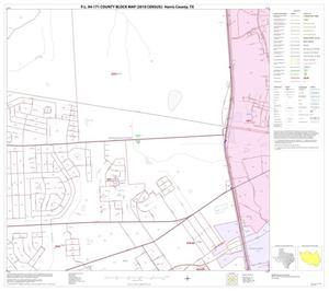 Primary view of object titled 'P.L. 94-171 County Block Map (2010 Census): Harris County, Block 31'.