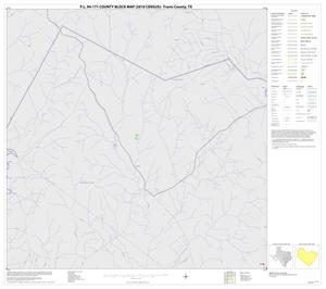Primary view of object titled 'P.L. 94-171 County Block Map (2010 Census): Travis County, Block 1'.