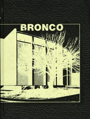 Primary view of object titled 'The Bronco, Yearbook of Hardin-Simmons University, 1975'.