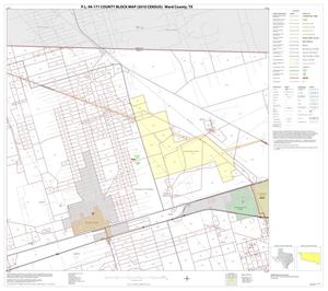 Primary view of object titled 'P.L. 94-171 County Block Map (2010 Census): Ward County, Block 5'.