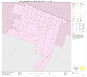 Primary view of object titled 'P.L. 94-171 County Block Map (2010 Census): Williamson County, Inset D01'.