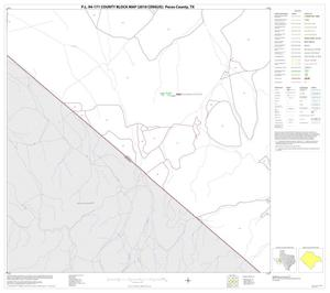 Primary view of object titled 'P.L. 94-171 County Block Map (2010 Census): Pecos County, Block 59'.