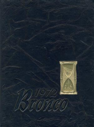 Primary view of object titled 'The Bronco, Yearbook of Hardin-Simmons University, 1972'.
