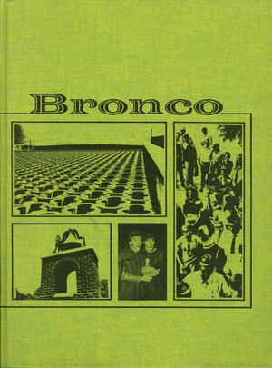 Primary view of object titled 'The Bronco, Yearbook of Hardin-Simmons University, 1971'.