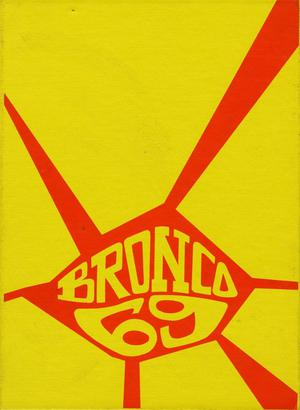 Primary view of object titled 'The Bronco, Yearbook of Hardin-Simmons University, 1969'.