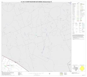 Primary view of object titled 'P.L. 94-171 County Block Map (2010 Census): Bastrop County, Block 3'.