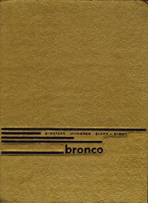 The Bronco, Yearbook of Hardin-Simmons University, 1968