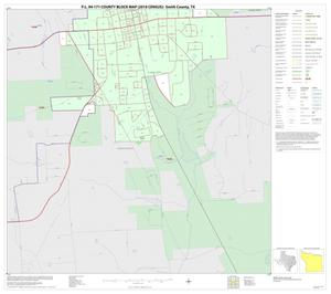 Primary view of object titled 'P.L. 94-171 County Block Map (2010 Census): Smith County, Inset A02'.