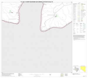 Primary view of object titled 'P.L. 94-171 County Block Map (2010 Census): Val Verde County, Block 53'.