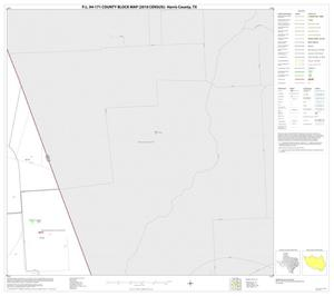 Primary view of object titled 'P.L. 94-171 County Block Map (2010 Census): Harris County, Block 39'.