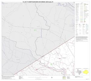 Primary view of object titled 'P.L. 94-171 County Block Map (2010 Census): Bell County, Block 1'.