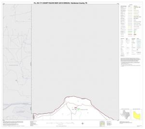 Primary view of object titled 'P.L. 94-171 County Block Map (2010 Census): Hardeman County, Block 1'.