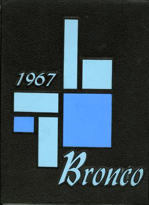 Primary view of object titled 'The Bronco, Yearbook of Hardin-Simmons University, 1967'.