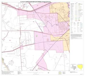Primary view of object titled 'P.L. 94-171 County Block Map (2010 Census): Orange County, Block 17'.