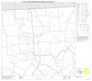 Primary view of object titled 'P.L. 94-171 County Block Map (2010 Census): Lavaca County, Block 2'.