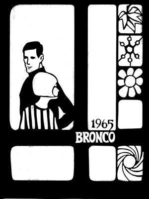 Primary view of object titled 'The Bronco, Yearbook of Hardin-Simmons University, 1965'.