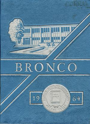 Primary view of object titled 'The Bronco, Yearbook of Hardin-Simmons University, 1964'.