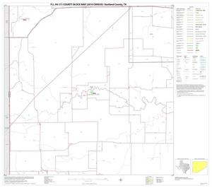 Primary view of object titled 'P.L. 94-171 County Block Map (2010 Census): Eastland County, Block 11'.