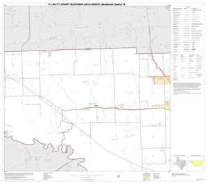 Primary view of object titled 'P.L. 94-171 County Block Map (2010 Census): Henderson County, Block 2'.