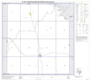 Primary view of object titled 'P.L. 94-171 County Block Map (2010 Census): Concho County, Index'.