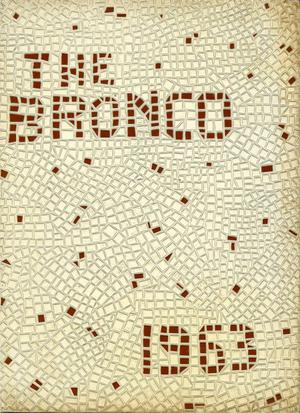 The Bronco, Yearbook of Hardin-Simmons University, 1963