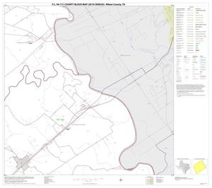 Primary view of object titled 'P.L. 94-171 County Block Map (2010 Census): Milam County, Block 14'.