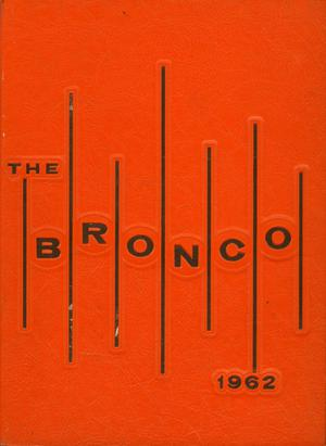 Primary view of object titled 'The Bronco, Yearbook of Hardin-Simmons University, 1962'.