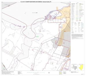 Primary view of object titled 'P.L. 94-171 County Block Map (2010 Census): Aransas County, Block 8'.