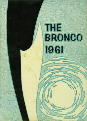 Primary view of object titled 'The Bronco, Yearbook of Hardin-Simmons University, 1961'.