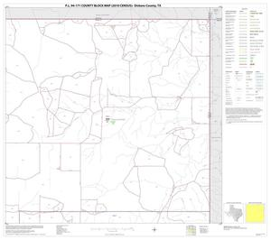 Primary view of object titled 'P.L. 94-171 County Block Map (2010 Census): Dickens County, Block 3'.