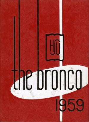 Primary view of object titled 'The Bronco, Yearbook of Hardin-Simmons University, 1959'.