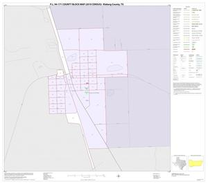 Primary view of object titled 'P.L. 94-171 County Block Map (2010 Census): Kleberg County, Inset D01'.