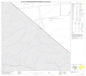 Primary view of object titled 'P.L. 94-171 County Block Map (2010 Census): Pecos County, Block 74'.
