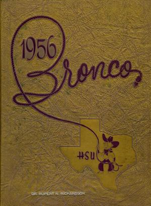 Primary view of object titled 'The Bronco, Yearbook of Hardin-Simmons University, 1956'.
