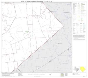 Primary view of object titled 'P.L. 94-171 County Block Map (2010 Census): Lavaca County, Block 14'.