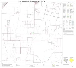 Primary view of object titled 'P.L. 94-171 County Block Map (2010 Census): Pecos County, Block 7'.