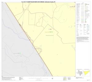 Primary view of object titled 'P.L. 94-171 County Block Map (2010 Census): Galveston County, Block 45'.