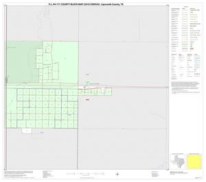 Primary view of object titled 'P.L. 94-171 County Block Map (2010 Census): Lipscomb County, Inset A01'.