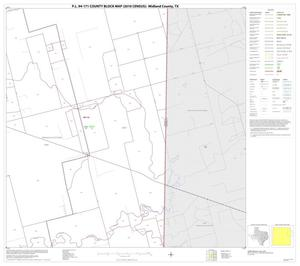Primary view of object titled 'P.L. 94-171 County Block Map (2010 Census): Midland County, Block 8'.