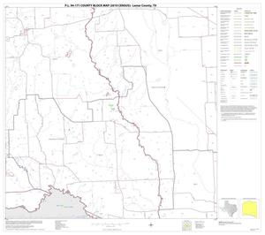 Primary view of P.L. 94-171 County Block Map (2010 Census): Lamar County, Block 23