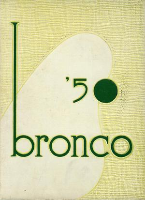 Primary view of object titled 'The Bronco, Yearbook of Hardin-Simmons University, 1950'.