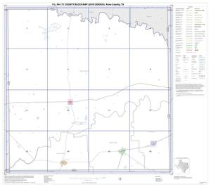 Primary view of object titled 'P.L. 94-171 County Block Map (2010 Census): Knox County, Index'.