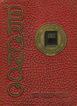 Primary view of object titled 'The Bronco, Yearbook of Hardin-Simmons University, 1949'.