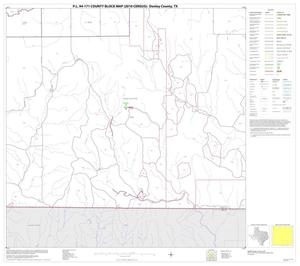Primary view of object titled 'P.L. 94-171 County Block Map (2010 Census): Donley County, Block 15'.