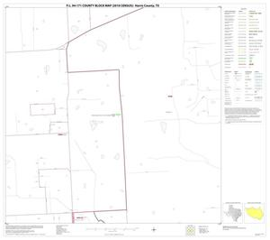 Primary view of object titled 'P.L. 94-171 County Block Map (2010 Census): Harris County, Block 44'.