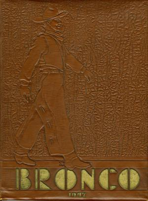 Primary view of object titled 'The Bronco, Yearbook of Hardin-Simmons University, 1947'.