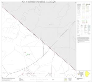 Primary view of object titled 'P.L. 94-171 County Block Map (2010 Census): Brewster County, Block 14'.